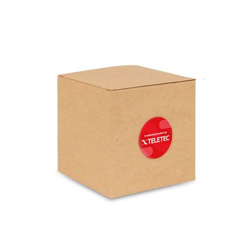 Surface back box, square, depth 50mm